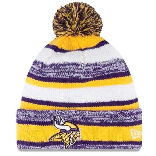 A NEW ERA Era On Field Sport Knit Hm Beanie ~ Minnesota Vikings