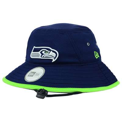 Seattle Seahawks New Era Team Training Bucket Hat 53463e5157f