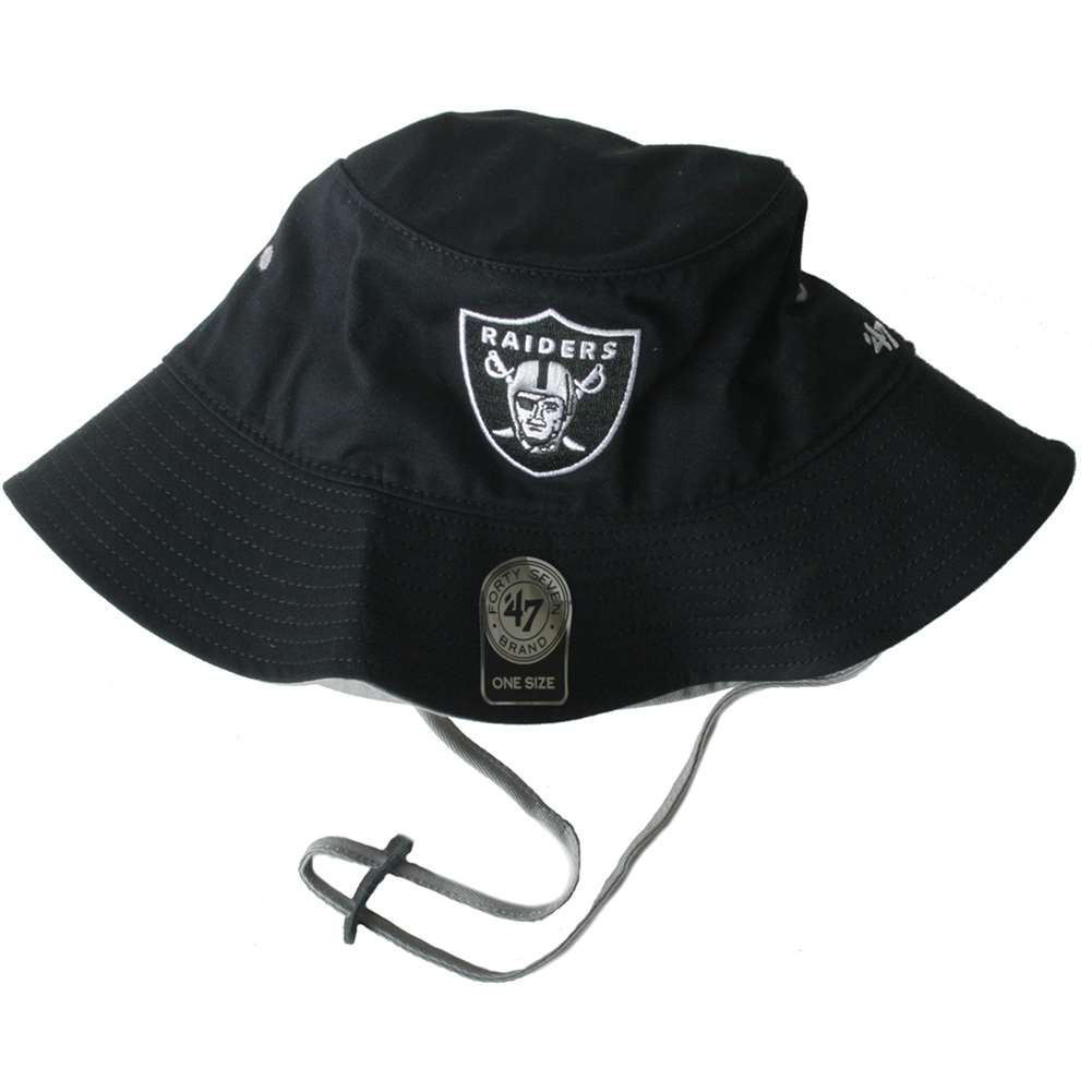 e37f014c Oakland Raiders 47 Brand Kirby Bucket Hat