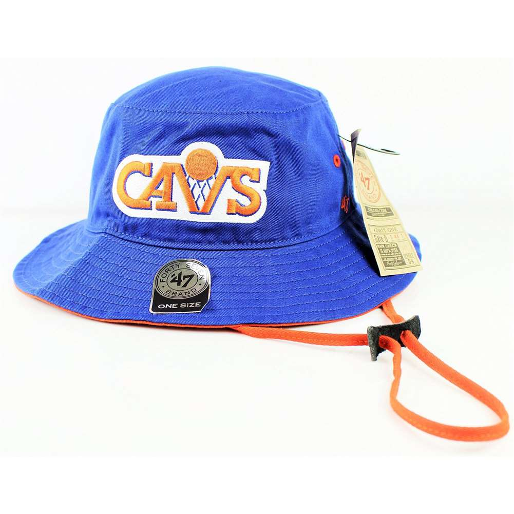 Cleveland Cavaliers 47 Brand Kirby Bucket Hat ce9619cb60e