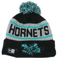 1571ba5981a ... Charlotte Hornets New Era Biggest Fan Redux Knit Beanie