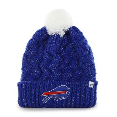Buffalo Bills 47 Brand Womens NFL Fiona Cuff Knit Beanie e943969898d4