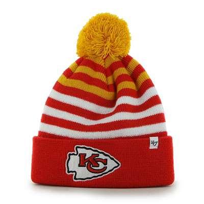 0b6f2e3e50a1e Kansas City Chiefs 47 Brand Youth NFL Yipes Cuff Knit Beanie