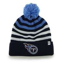 Tennessee Titans 47 Brand Youth NFL Yipes Cuff Knit Beanie