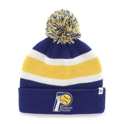 Indiana Pacers 47 Brand Breakaway Cuff Knit Beanie 8dd8ed6418a