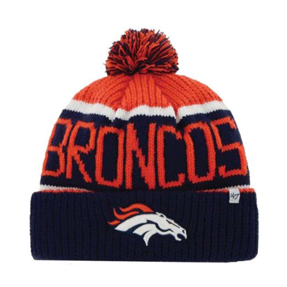 Knitting Stores Calgary : Denver broncos brand nfl calgary cuff knit beanie