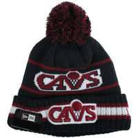 Cleveland Cavaliers New Era Vintage Select Pom Knit Beanie