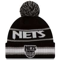 New Jersey Nets New Era Vintage Select Pom Knit Beanie
