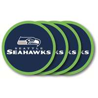 Seattle Seahawks Drink Coaster Set - 4 Pack