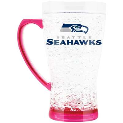 Seattle Seahawks Flared 16 oz Freezer Mug - Pink