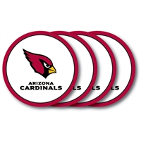 Arizona Cardinals Coaster Set - 4 Pack