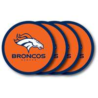 Denver Broncos Coaster Set - 4 Pack