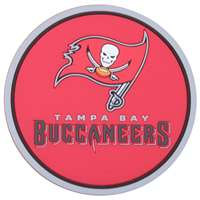 Tampa Bay Buccaneers Coaster Set - 4 Pack