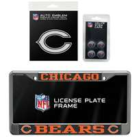 Chicago Bears 3 Piece Automotive Fan Kit