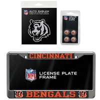 Cincinnati Bengals 3 Piece Automotive Fan Kit