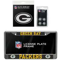 Green Bay Packers 3 Piece Automotive Fan Kit