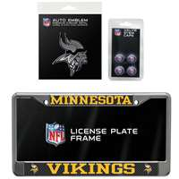 Minnesota Vikings 3 Piece Automotive Fan Kit