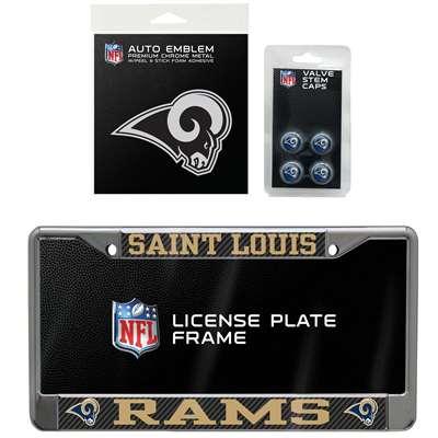 Saint Louis Rams 3 Piece Automotive Fan Kit