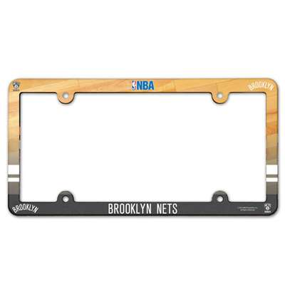Brooklyn Nets Plastic License Plate Frame