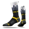 Pittsburgh Steelers Strideline Strapped Fit 2.0 Socks - Steel City