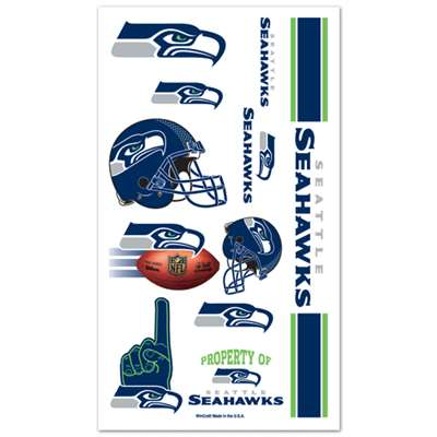 Seattle Seahawks Temporary Tattoos