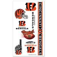 Cincinnati Bengals Temporary Tattoos