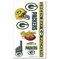 Green Bay Packers Temporary Tattoos