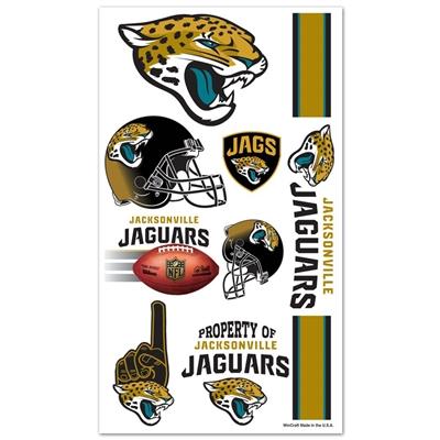 Jacksonville Jaguars Temporary Tattoos