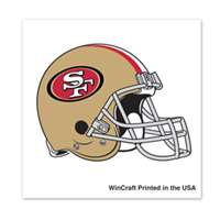 San Francisco 49ers Temporary Tattoo - 4 Pack