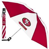 San Francisco 49ers Umbrella - Auto Folding