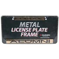 Purdue Boilermakers Metal Alumni Inlaid Acrylic License Plate Frame