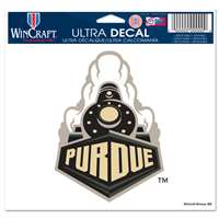 "Purdue Boilermakers Ultra Decal 5"" x 6"""