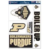 Purdue Boilermakers Ultra Decal Set - 11'' X 17''