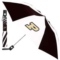 Purdue Boilermakers Umbrella - Auto Folding - Alt