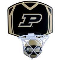 Purdue Boilermakers Mini Basketball And Hoop Set