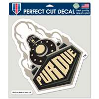 "Purdue Boilermakers Full Color Die Cut Decal - 8"" X 8"""