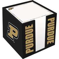 Purdue Boilermakers Cube Note Card Holder