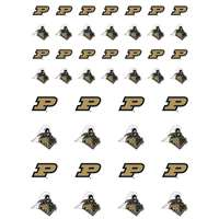 Purdue Boilermakers Small Sticker Sheet - 2 Sheets