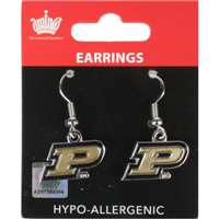 Purdue Boilermakers Dangler Earrings