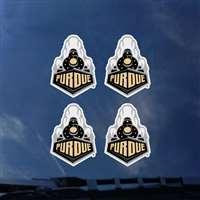 Purdue Boilermakers Transfer Decals - Set of 4