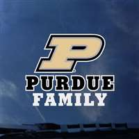Purdue Boilermakers Transfer Decal - Family