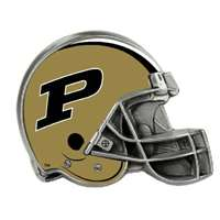 Purdue Boilermakers Trailer Hitch Receiver Cover - Helmet