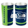 Seattle Seahawks Metal Wastebasket
