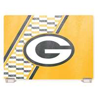 Green Bay Packers Glass Cutting Board