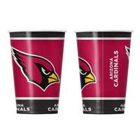 Arizona Cardinals Disposable Paper Cups - 20 Pack