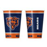 Chicago Bears Disposable Paper Cups - 20 Pack