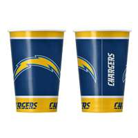 Los Angeles Chargers Disposable Paper Cups - 20 Pack