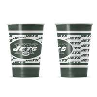New York Jets Disposable Paper Cups - 20 Pack