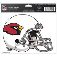 "Arizona Cardinals Ultra decals 5"" x 6"""