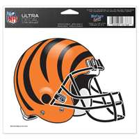 "Cincinnati Bengals Ultra decals 5"" x 6"""